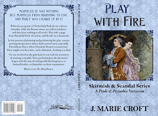 Full Wrap book cover: Play with Fire by J Marie Croft