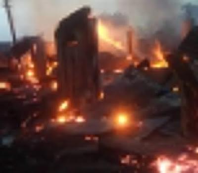 INEC Office Set Ablaze In Abia