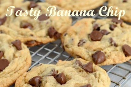 Tasty Banana Chocolate Chip Cookies