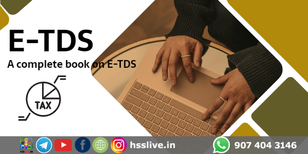 A Complete book on E-TDS: TDS Filing, TDS Correction