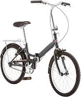 Schwinn Hinge Adult Folding Bike, 20-inch Wheels