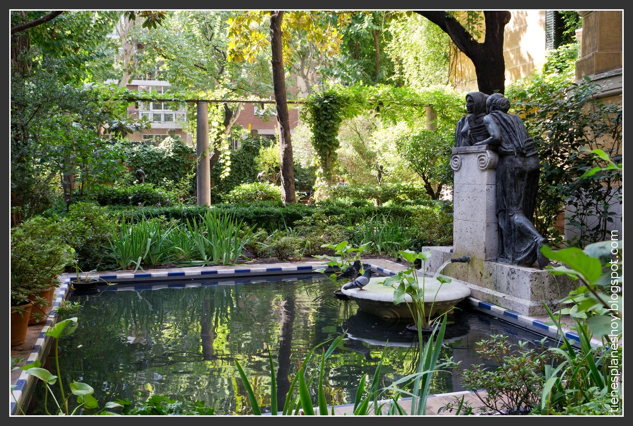 Museo sorolla uno de esos rincones con encanto en madrid for Rincones de jardines pequenos