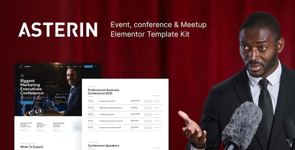 Best Digital Event and Conference Elementor Template Kit