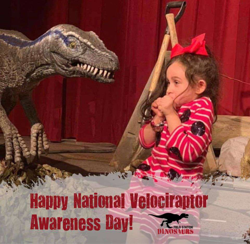 National Velociraptor Awareness Day Wishes pics free download