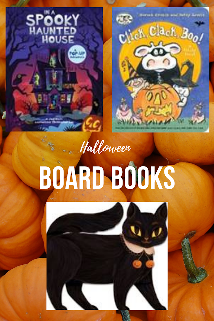 Halloween Kids Board Books 2020