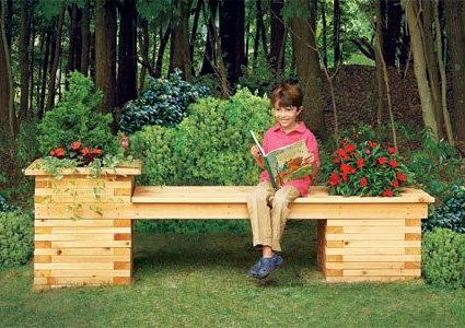 Build Your Own Planter Bench