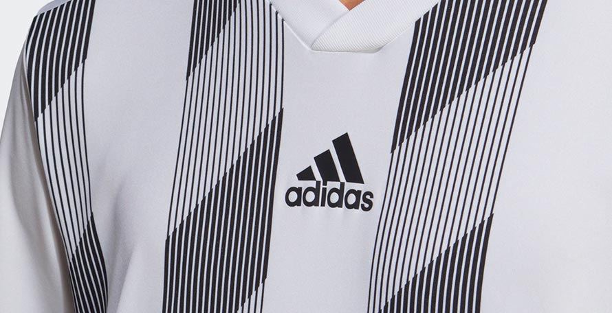 cb169005d The Adidas Striped 19 jersey offers a modern take on a classic theme and  will be available from late this year.