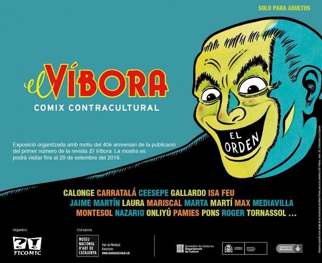 Ficomic y el MNAC celebran el 40 aniversario de la revista El Víbora