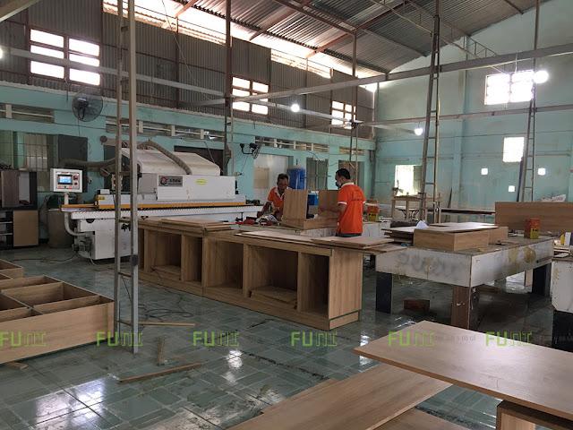 Xưởng sàn xuất và thi công nội thất