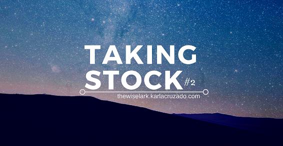 Personal Blog Taking Stock Challenge