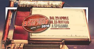 Street BierFest dal 29 aprile al 15 Maggio Spirano (BG) 2016