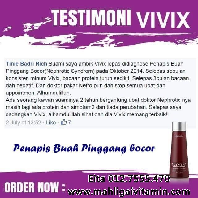 vivix buah pinggang bocor