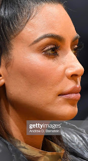 Close-up photo of Kim Kardashian West's skin goes viral on Reddit: 'I think this is often the most human I've seen her face look