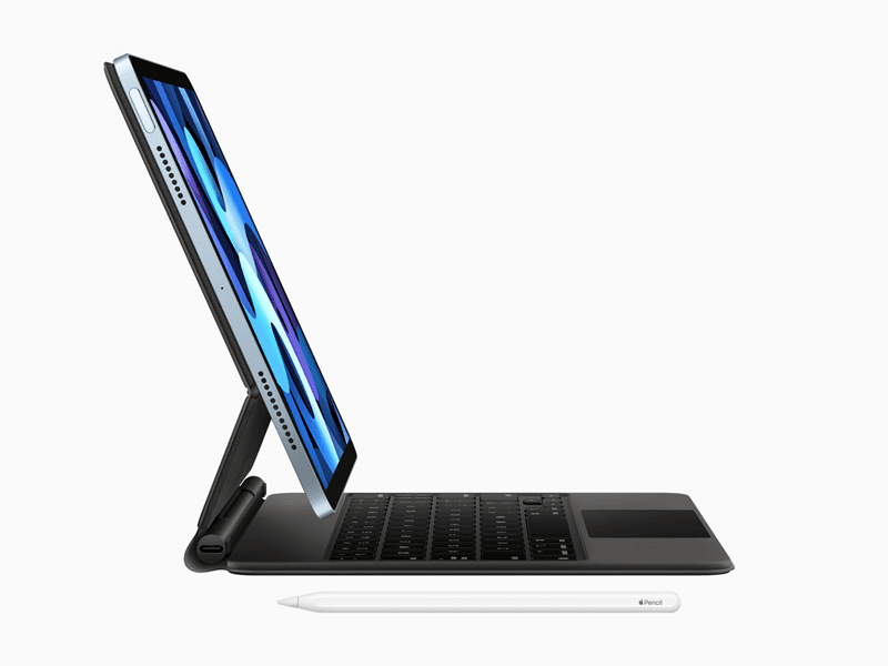 Compatible with the Magic Keyboard and the Pencil 2