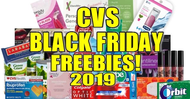 CVS Black Friday Freebies 2019