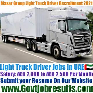 Masar Group Light Truck Driver Recruitment 2021-22