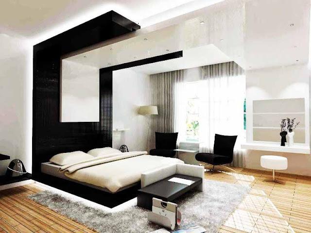 40 Desain Kamar Tempat Tidur Minimalis Super Istimewa