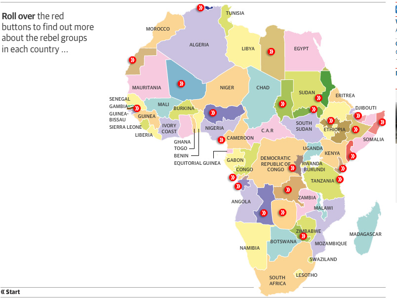 How would you redraw the map of Africa? (country, 2014)   Page 2
