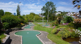 Mini Golf in Goodrington Sands