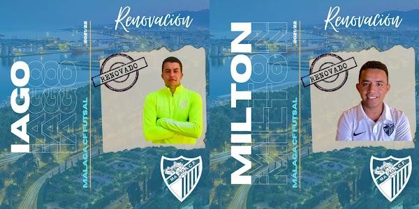 El Málaga CF Futsal anuncia seis renovaciones para la temporada 2021/2022