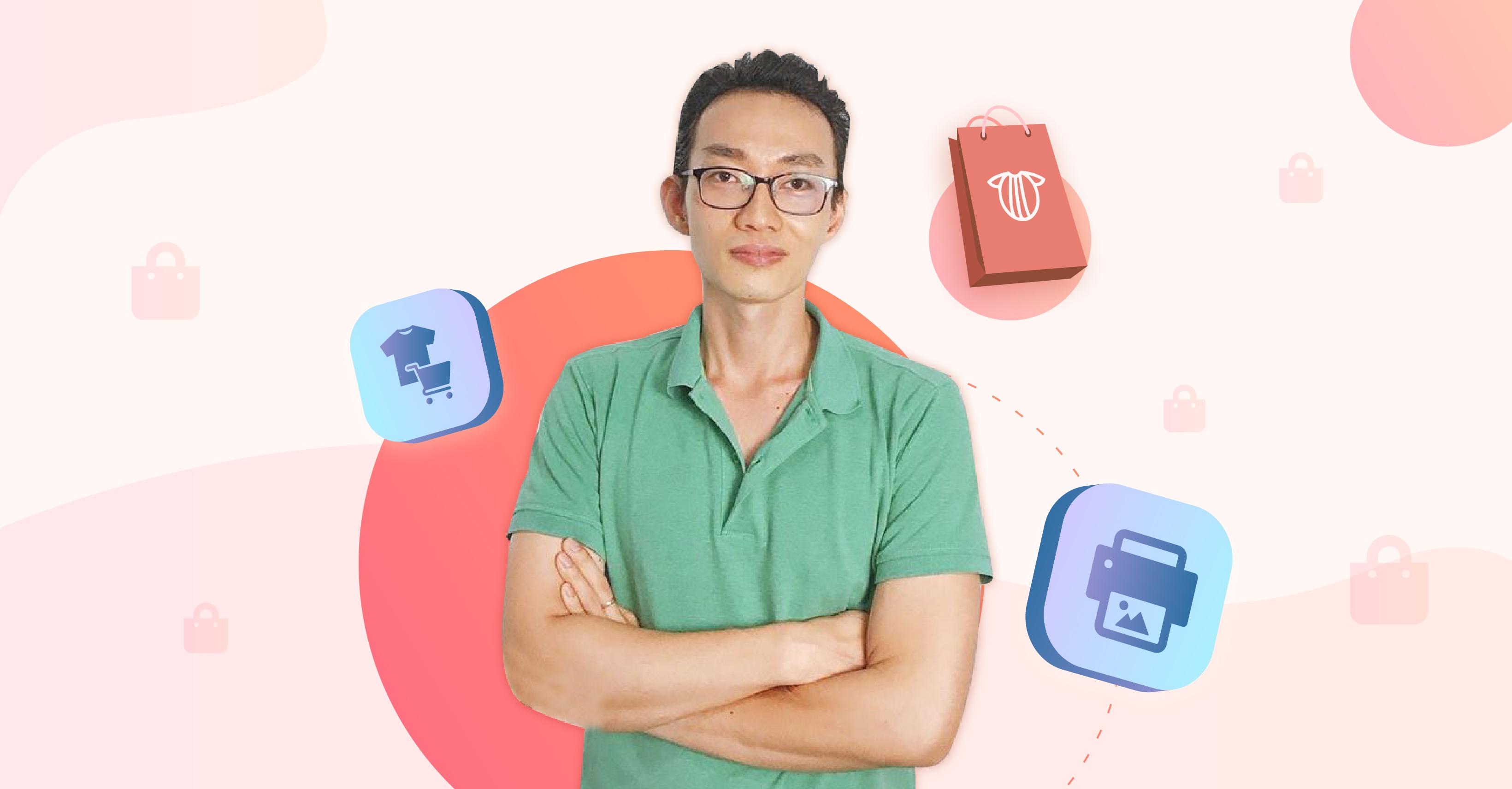 Khóa học hướng dẫn Xây dựng cửa hàng kinh doanh online với hình thức POD thị trường quốc tế - Doanh thu triệu đô từ con số 0