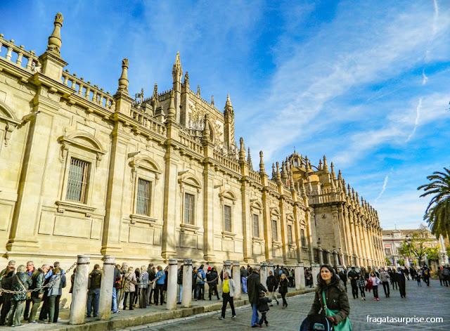 Acesso turístico à Catedral de Sevilha