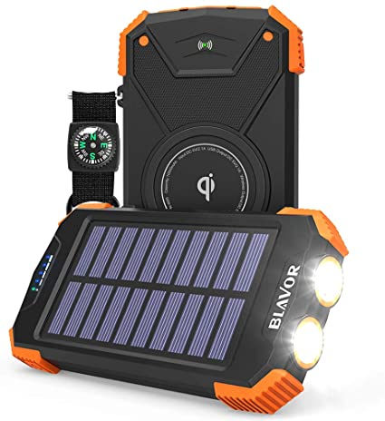 wireless power bank  for camping