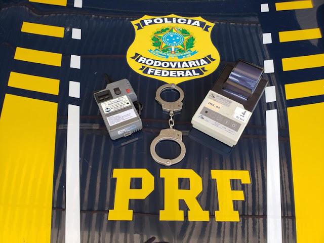 PRF prende homem por embriaguez ao volante e posse de droga em Mossoró, RN