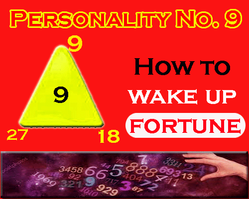 all about Personality Number 9- How to wake up fortune by numerologist