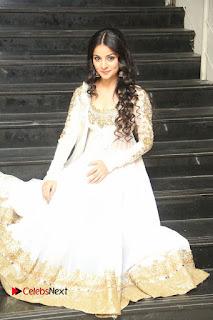 Telugu Actress Mahima Makwana Stills in White Desginer Dress at Venkatapuram Movie Logo Launch  0211.JPG