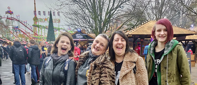 madmumof7 and friends at Hyde Park Winter Wonderland, London