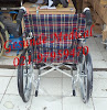 Tampak Belakang Kursi Roda