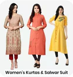 Womens Kurtas and Salwar Suit