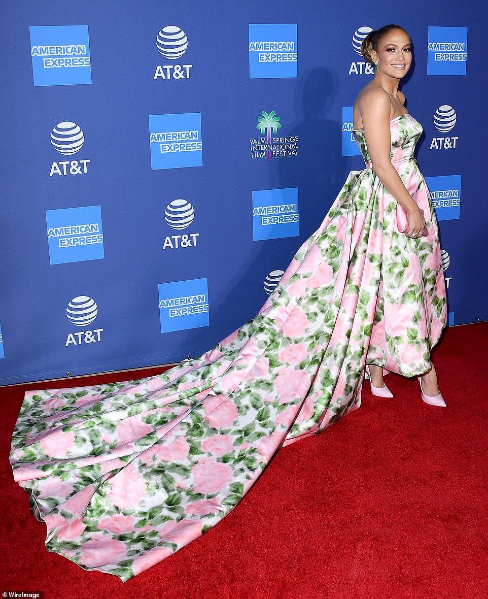 Jennifer Lopez - Palm Springs Film Festival Gala