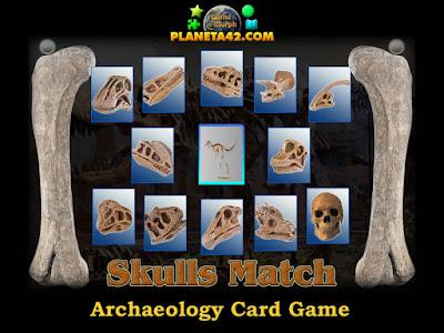 Еднакви черепчета игра с карти
