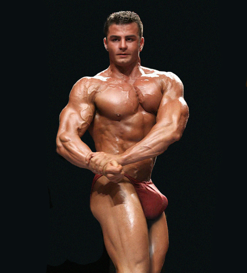huge bodybuilder