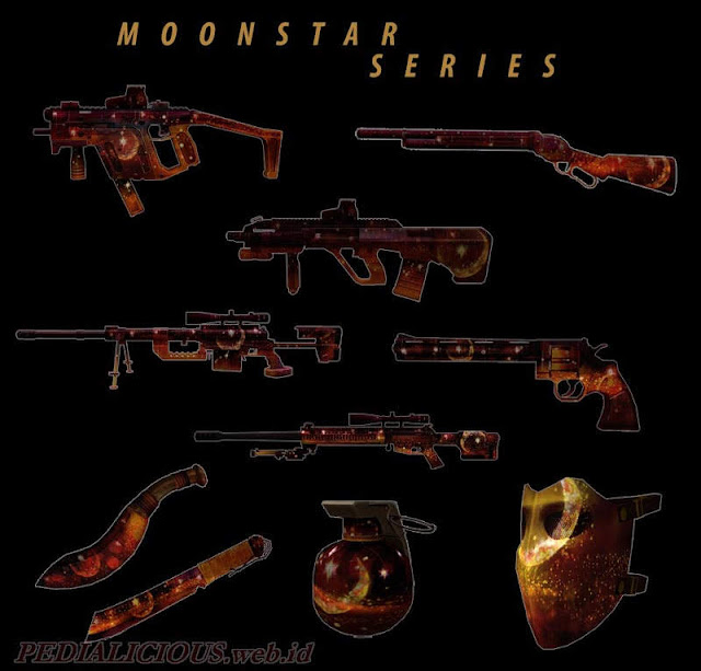 Harga & Statistik Seri MoonStar Senjata Point Blank