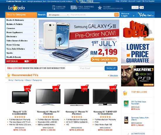 FREE Discount Coupons for Lazada Malaysia Shopping Online