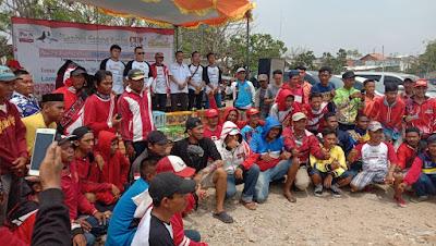 Ike Edwin Apresiasi Lomba Merpati Kolong Yang Digelar Polisi Selebriti Lampung