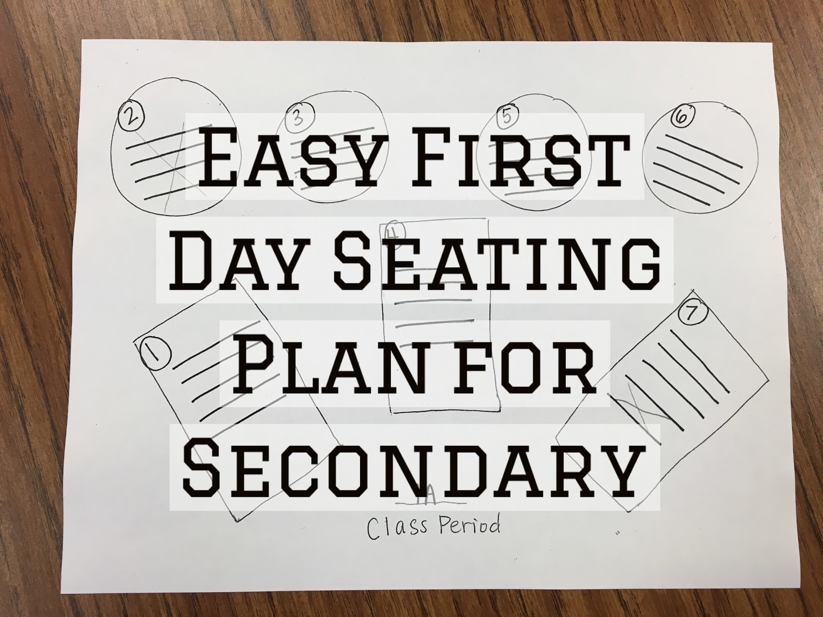 live the conversation easy first day seating plan for secondary