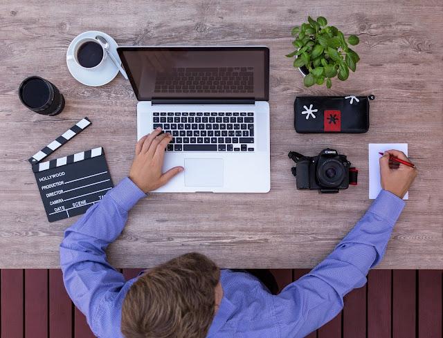 Photographer-laptop
