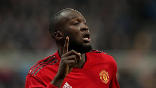 Pemain Manchester United, Romelu Lukaku. - Foto/Reuters