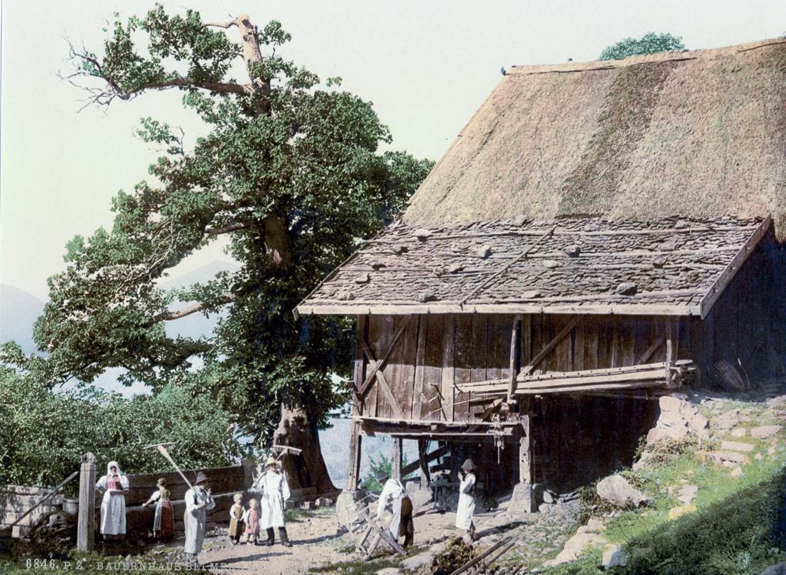 Peasants' house, Meran.