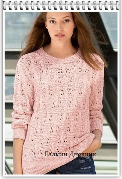 jenskii-pulover-spicami | toқu-puloverі | janochi-pulover-prutkamі | jіnochii-pulover-spicyami
