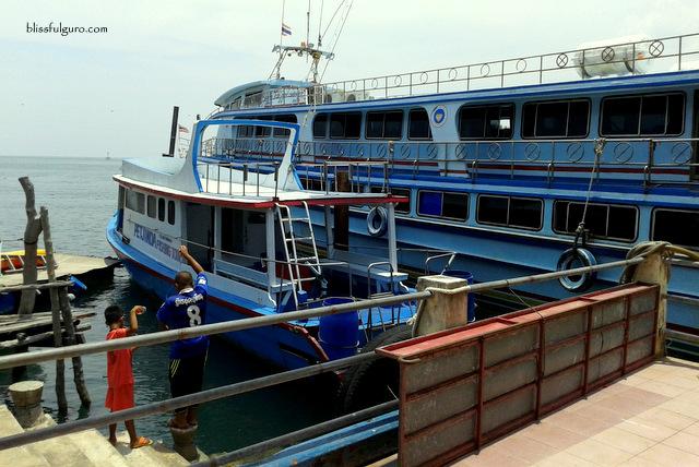 Saladan Pier Koh Lanta Thailand