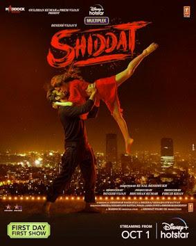 Shiddat Movie Poster