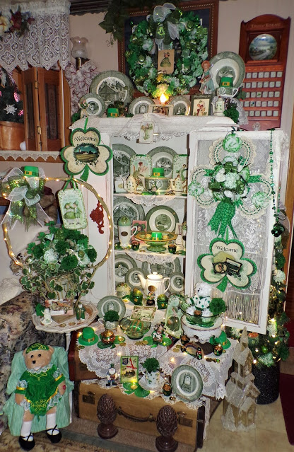 St. Patrick's Day home decor