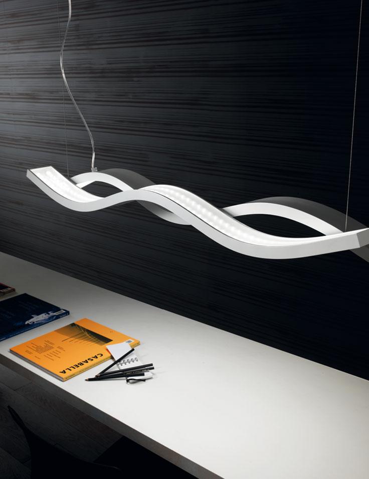 Lampadari moderni e di design lampadari moderni a led for Lampadari con lampade a led