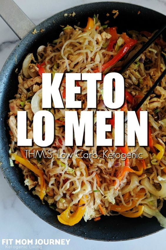 keto low carb lo mein chinese food recipes