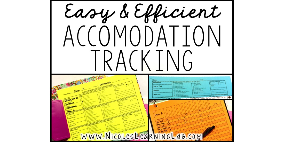 Special Education Accommodations >> Tracking Accommodations Easily And Efficiently Learning Lab